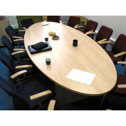 Стол для переговоров (бежевый)